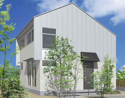 自由なデザインのセミオーダー住宅
